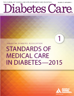 Standards of Medical Care in Diabetes 2015