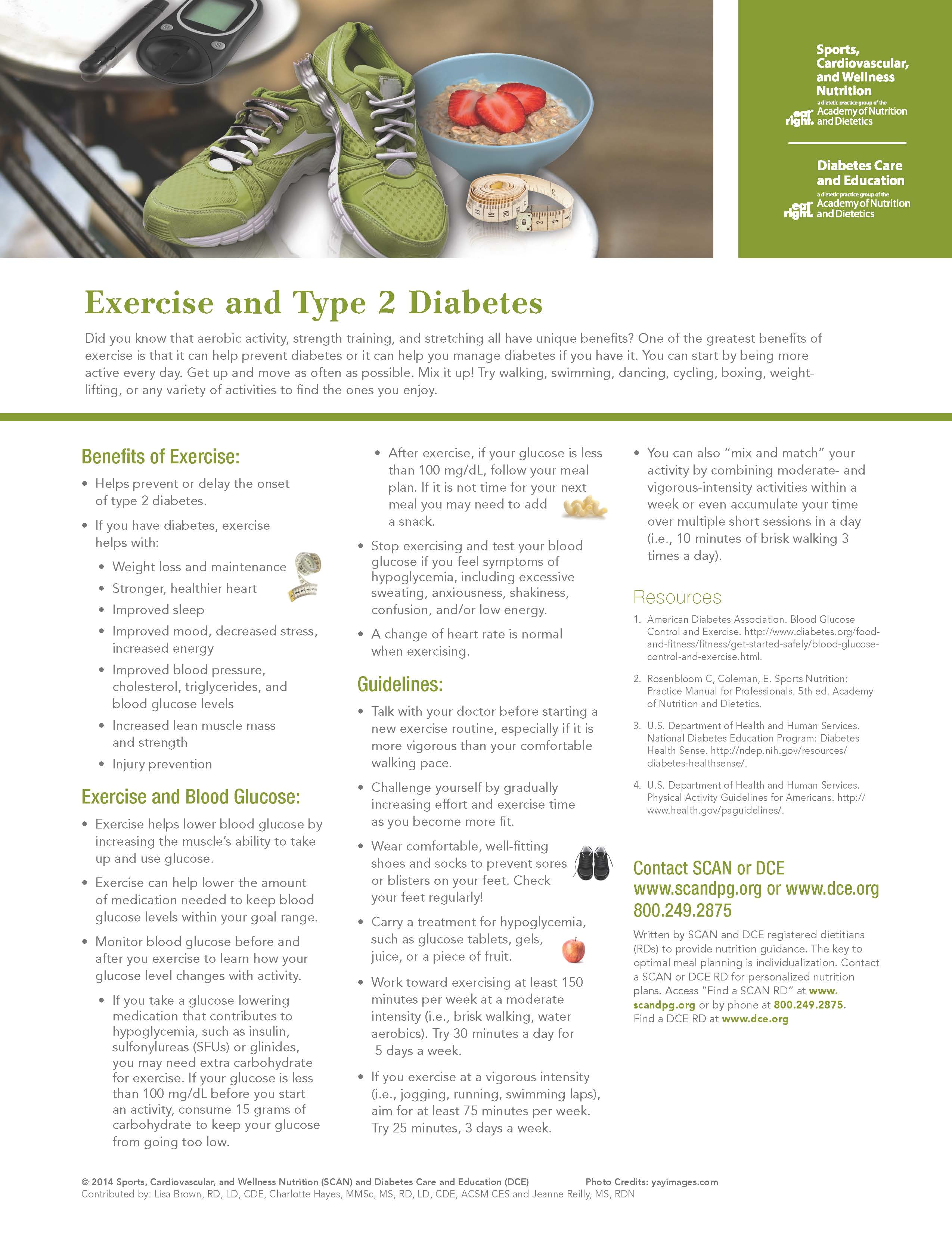 WCV Exercise and Type 2 Diabetes